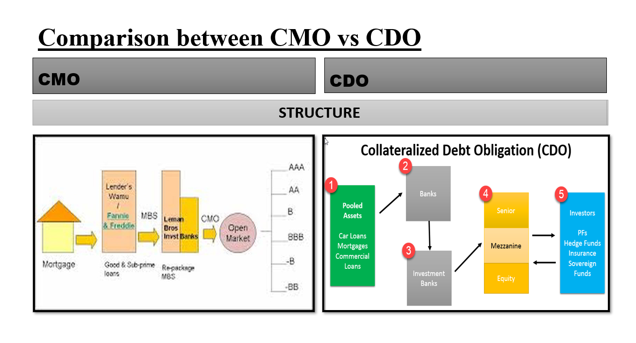 CMO vs CDO | What is the difference between them? - Fintelligents